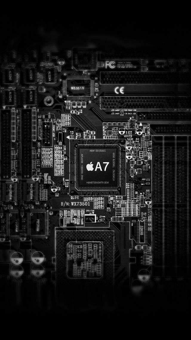 Apple A7 Chip Iphone 6 6 Plus And Iphone 5 4 Wallpapers Iphone 7 Plus Wallpaper Apple Wallpaper Iphone Wallpaper
