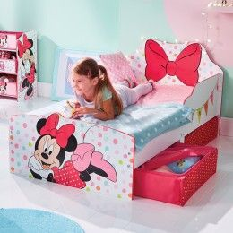 Lit Enfant Gifi En 2020 Deco Chambre Minnie Lit Enfant Lit Enfant Fille