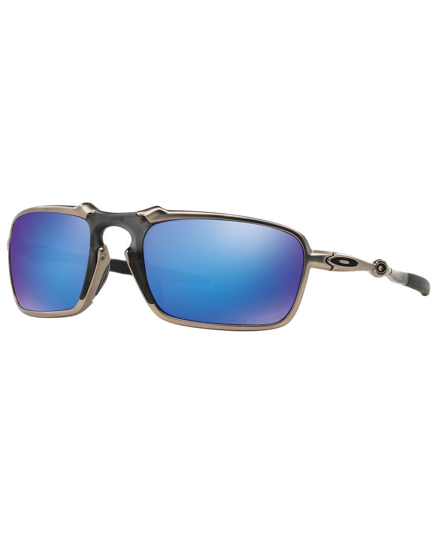 Oakley Sunglasses, OO6020 BADMAN - Sunglasses by Sunglass Hut - Men - Macy's