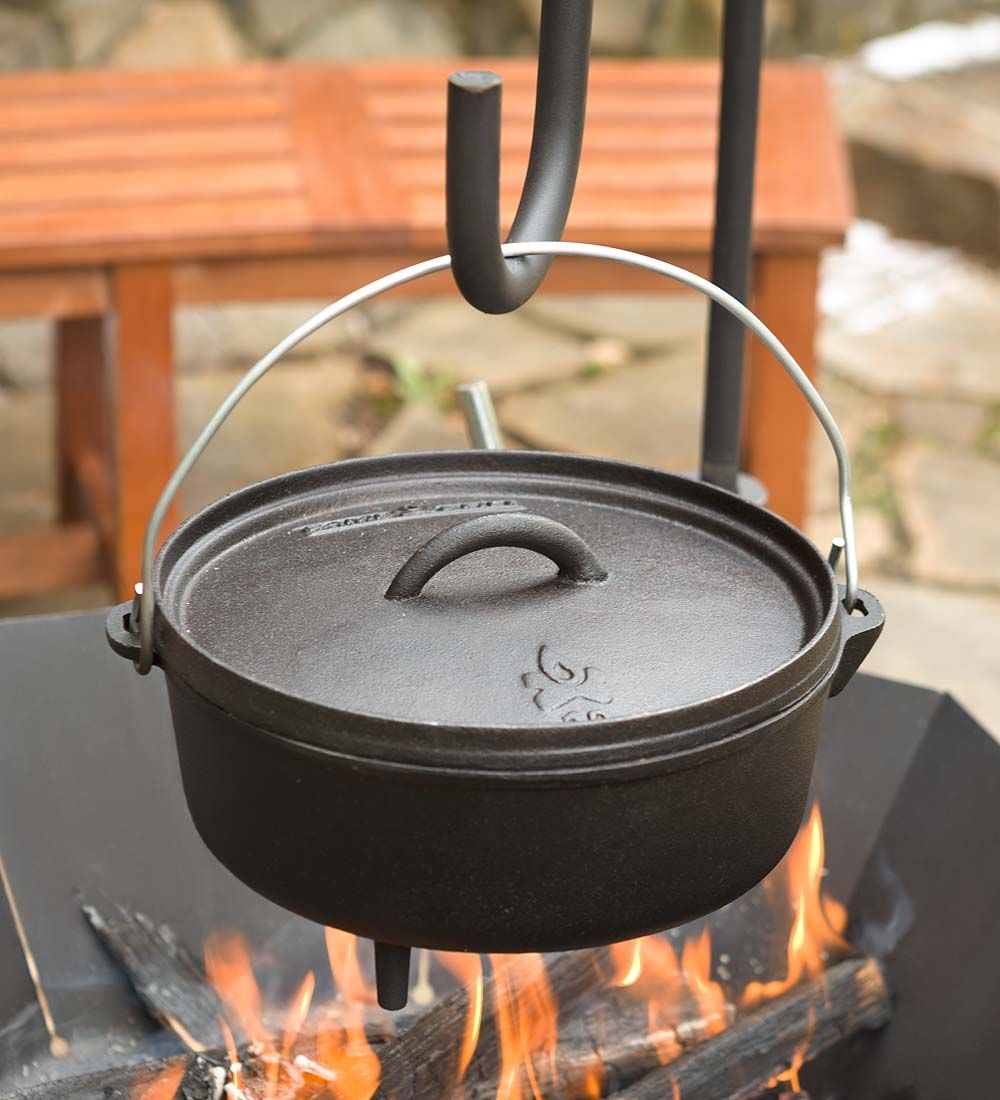 don u0027t go camping with out it our durable cast iron dutch oven is