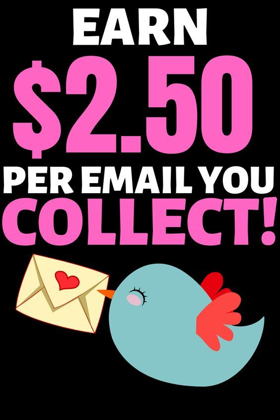 Make Money Quick By Collecting Emails!