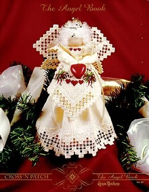 Hardanger: Angel Book (The) - (6319) -Great project.  Makes a nice gift for a friend.