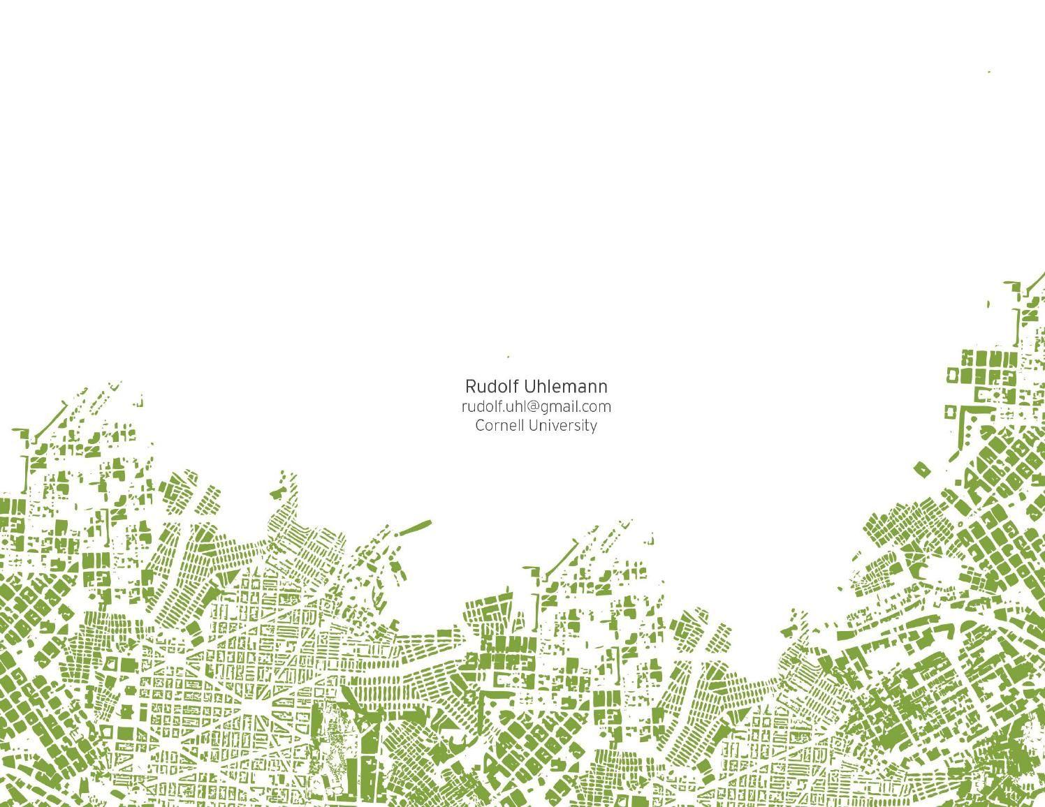 Issuu  Rudolf Uhlemann Landscape Architecture Portfolio By Rudolf