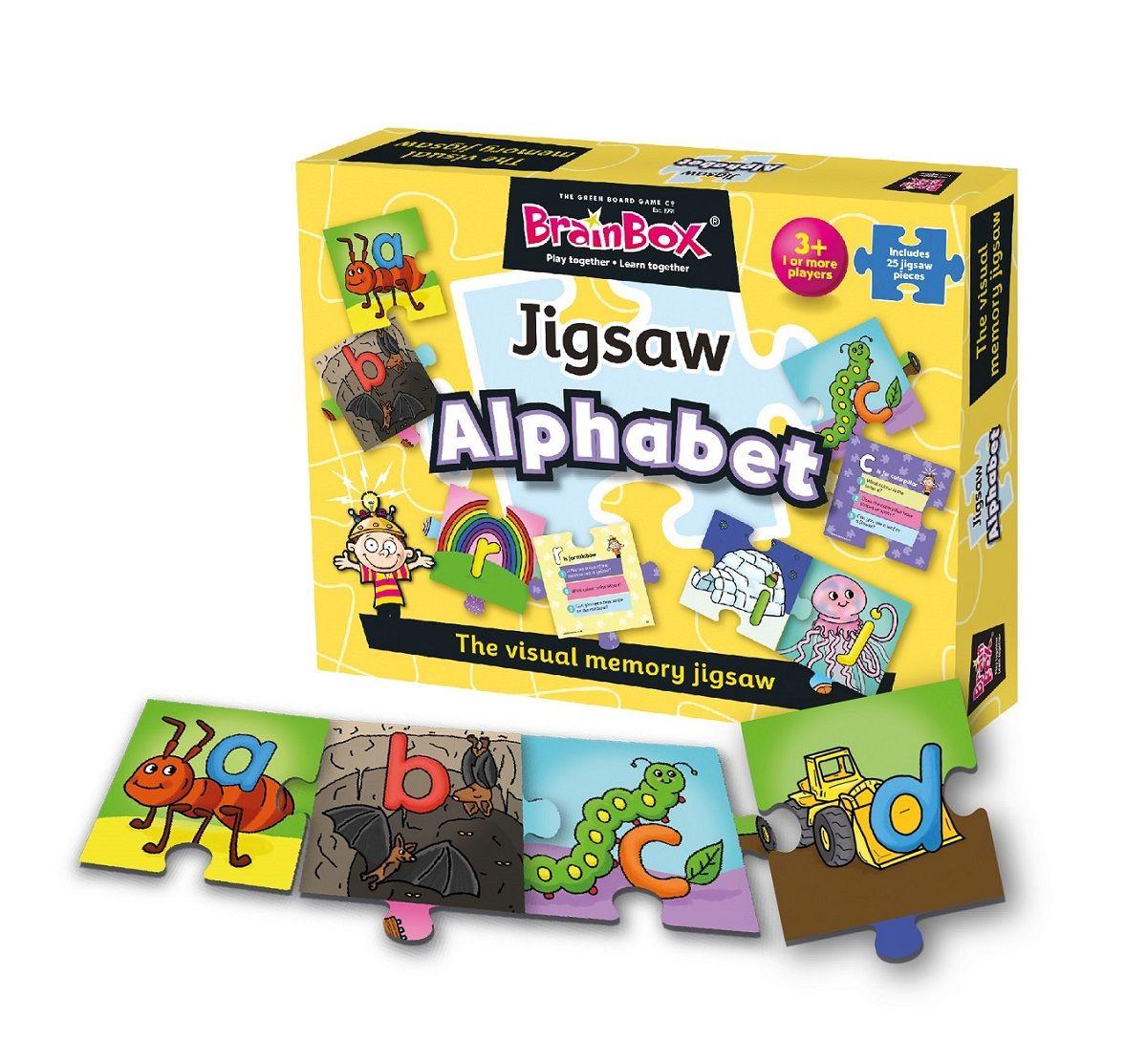 BrainBox Alphabet Jigsaw Little learners, Alphabet