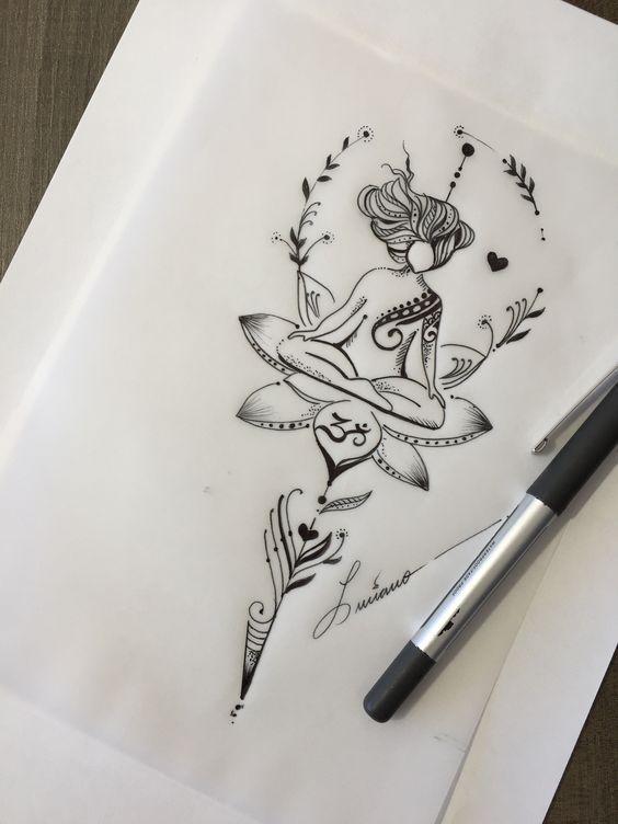 Photo of 35 Ideas for Amazing Designs of Tattoo Designs … – Мехенди – #D … – Yoga – Atemberaubende Tattoo Models