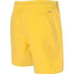 Napapijri Badeshort Herren, Mikrofaser, gelb Napapijri #outfitswithshorts