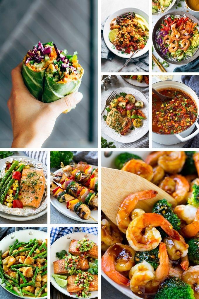 20 Healthy Recipes | Healthy Chicken Recipes | Healthy Shrimp Recipes | Low Carb Recipes
