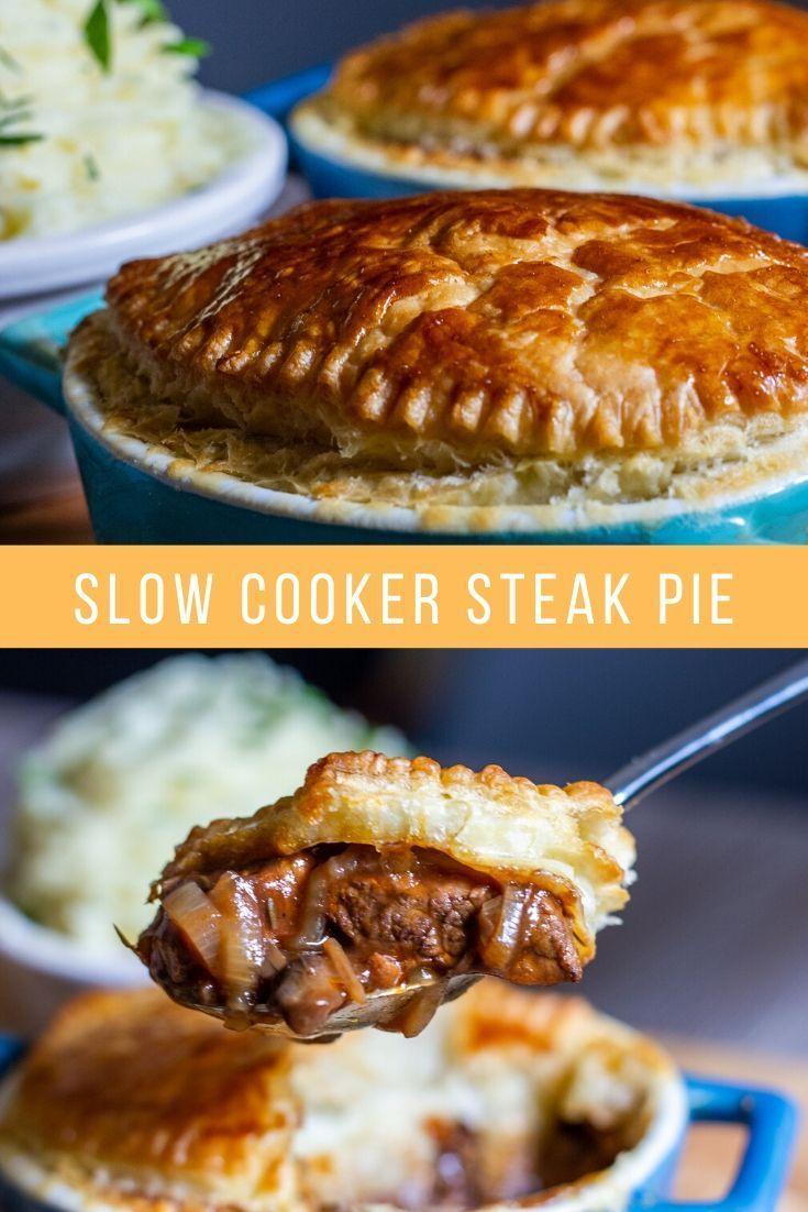 Slow Cooker Steak Pie | Recipe | Slow cooker steak pie ...