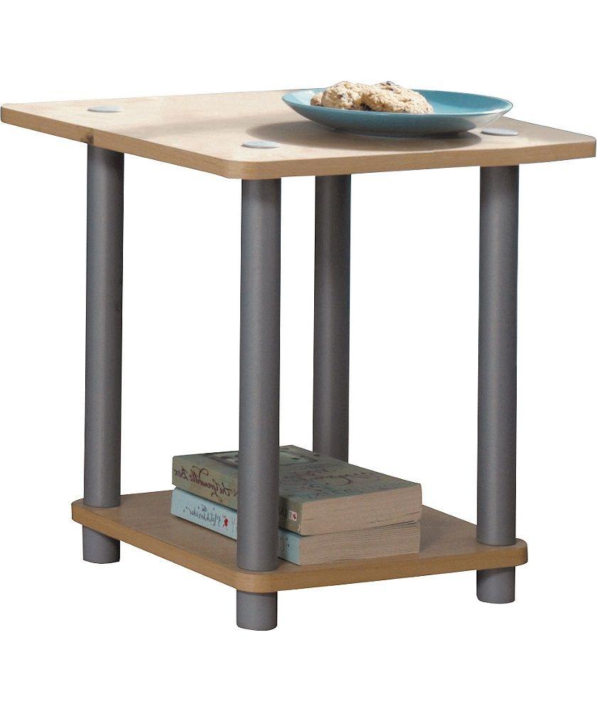 Best Buy Home Verona 1 Shelf End Table Beech Effect At Argos 400 x 300