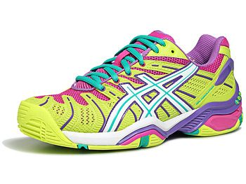 womens asics gel resolution 4 tennis shoe