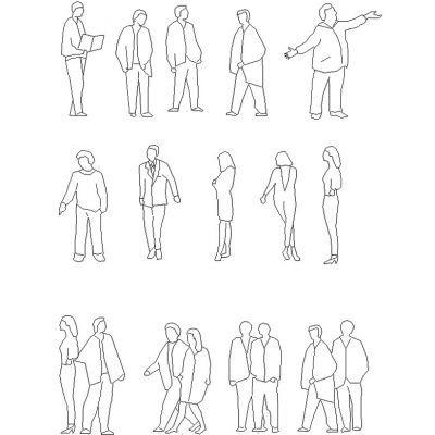 Outline Figures Architect Render Google Search Waterman Pens Drawing People Urban Sketching