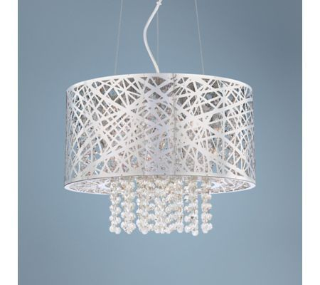LightInTheBox Rectangle Shell Chandelier Dining Room Modern Ceiling Light Fixtures 30