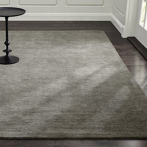 Baxter Grey Wool Rug 10 X 14, Lots Of Colors Available, $1,499 Big Rug