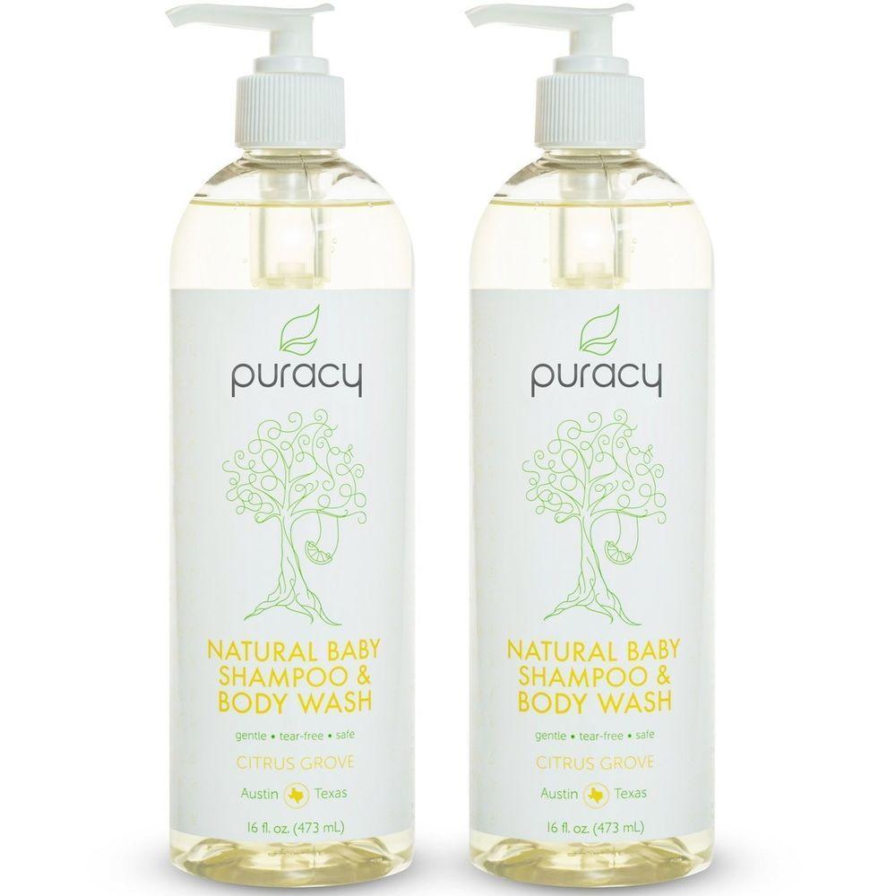 Baby shampoo and body wash tearfree sulfatefree bubble