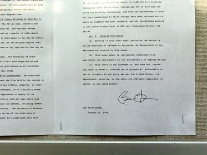 Barack ObamaS Letter To Close Guantanamo Bay Prison  Notes
