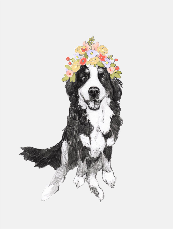 Bernese flower crown by annatyrrell on etsy crown
