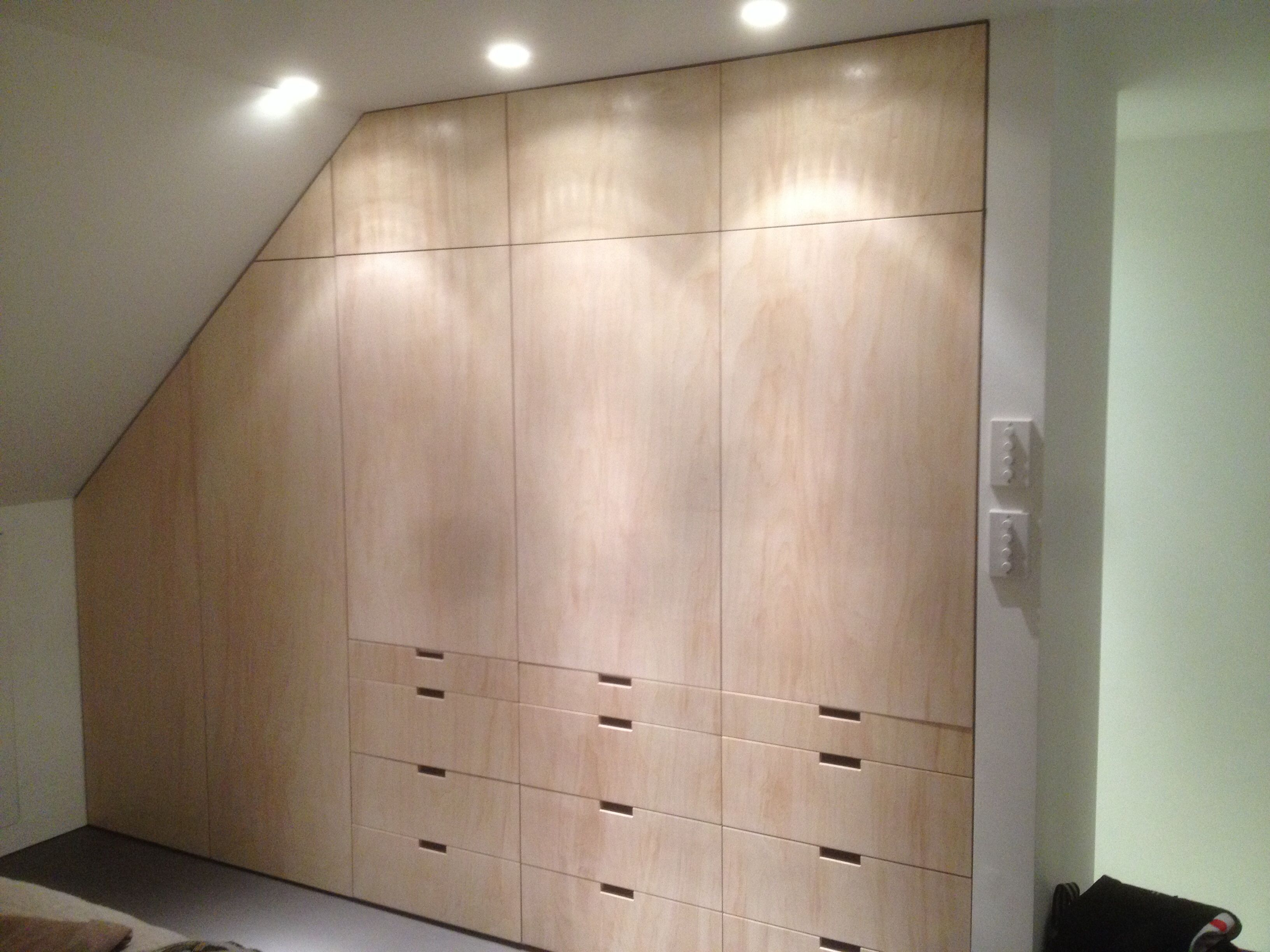 Plywood Door Designs For Rooms Birch Ply Wardrobe By Fine Balance Carpentry Idea 39s