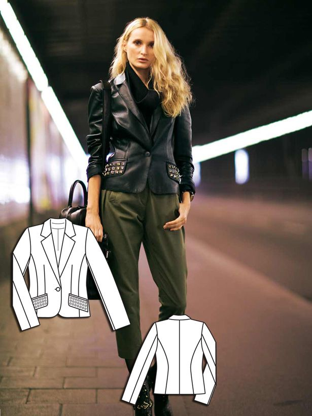 Read the article 'Urban Camouflage: 6 Updated Sewing Patterns' in the BurdaStyle blog 'Daily Thread'.