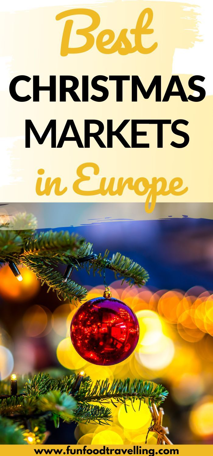 Top 5 Places For Christmas Market Breaks In Europe In 2020 Christmas In Europe Christmas Markets Europe Christmas Travel