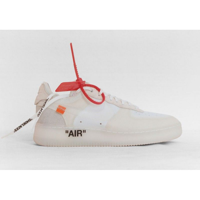 Fresh OFF-White X Nike Air Force 1 Virgil Abloh Shoe For Sale