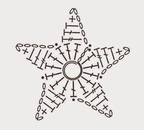 patrones de estrellas de ganchillo - Buscar con Google | crochet ...