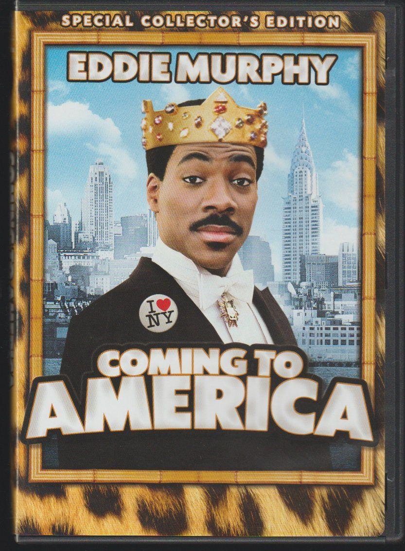 EDDIE MURPHY movie poster COMING TO AMERICA comedy NEW YORK CITY 24X36