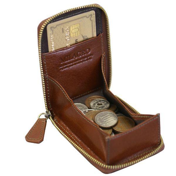 財布 コインケース カードケース オイルドレザー イタリアンレザー 本