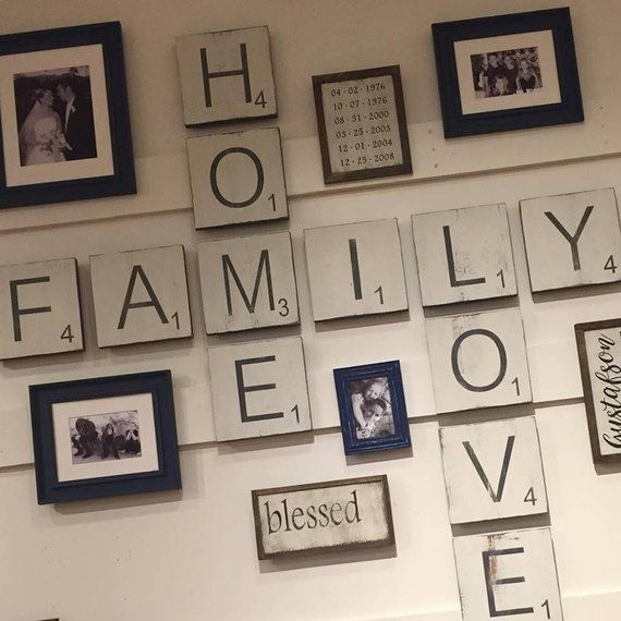 Large Letter Tiles For The Wall Home Decor Gallery