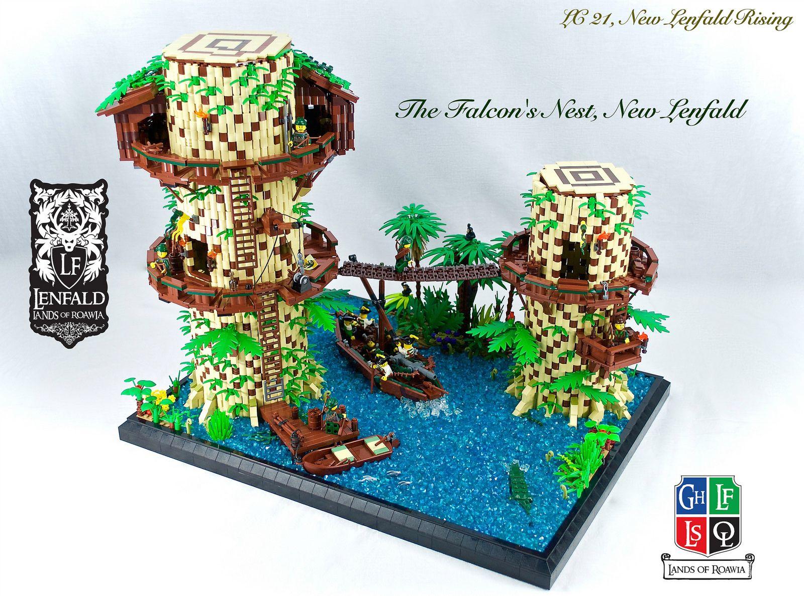 The Falcon S Nest Lego Animals Falcons Falcon