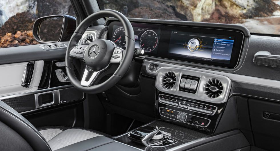 2019 Mercedes G Class Interior Revealed All New Suv Debuts In