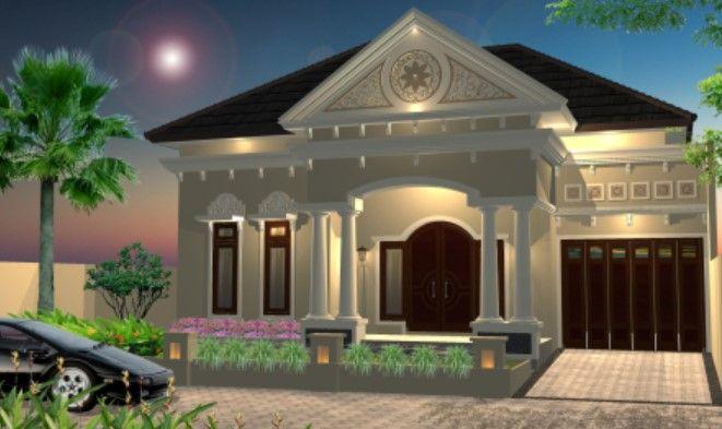 Gambar Rumah Mewah 1 Lantai
