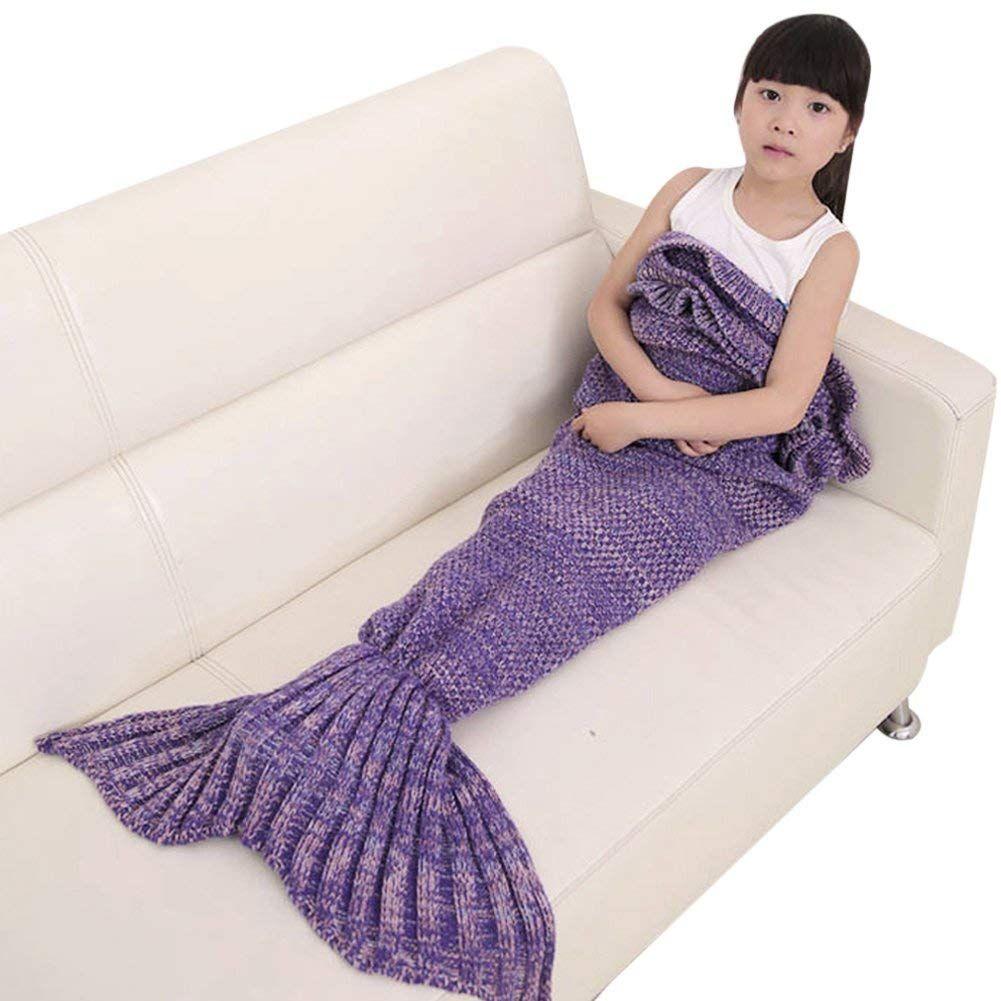 Kinder Mermaid Decke Diese Coole Kuscheldecke In Form Eines