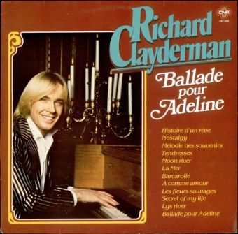 Ballade Pour Adeline Richard Clayderman Free Piano Sheet Music