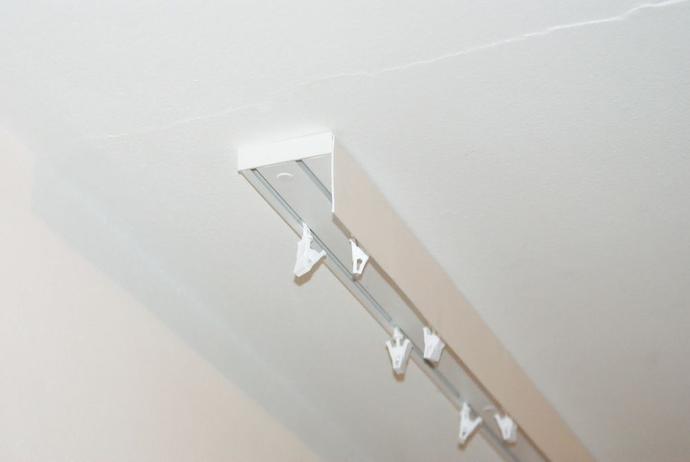 Curtain Rail Track Ceiling Pvc