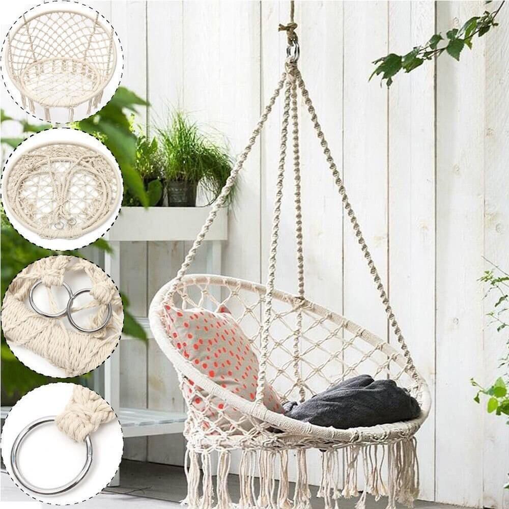 Beautiful And Stylish Indoor Swing Chair For Bedroom