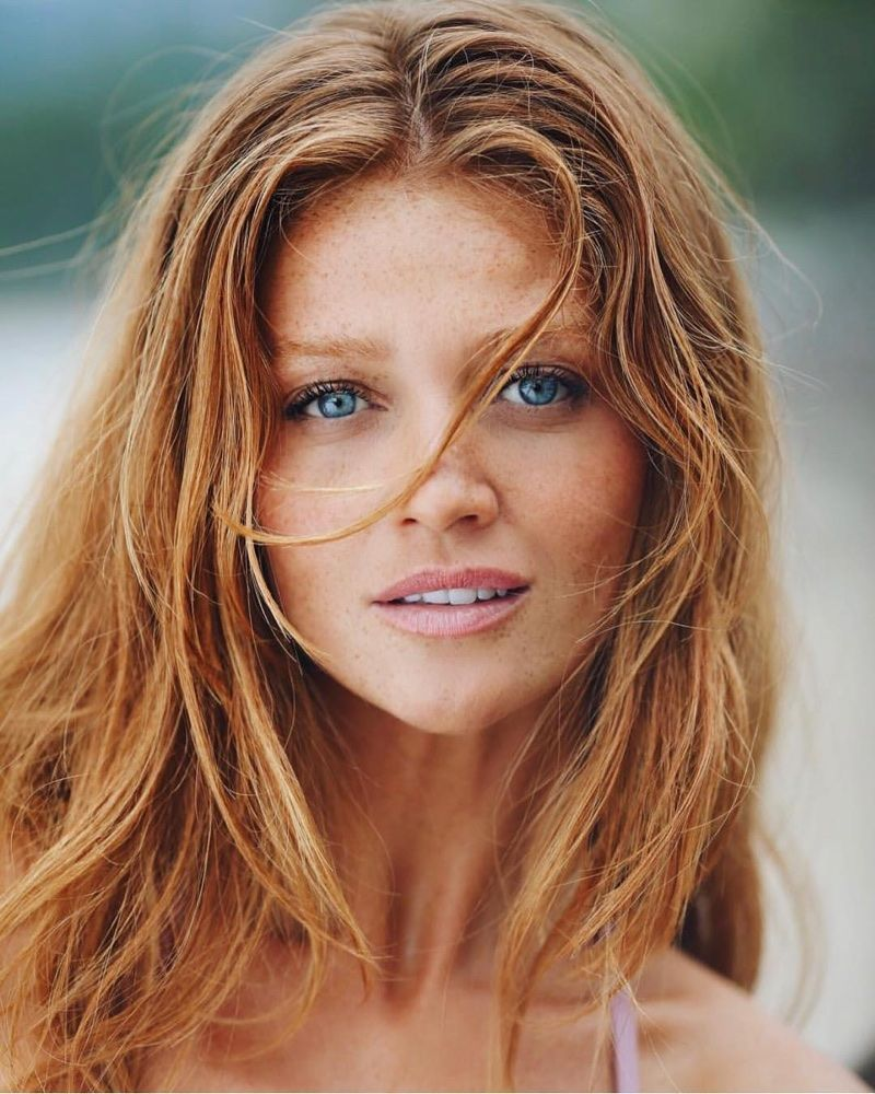 Fiery Beauties 8 Famous Models With Red Hair Red Hair Model
