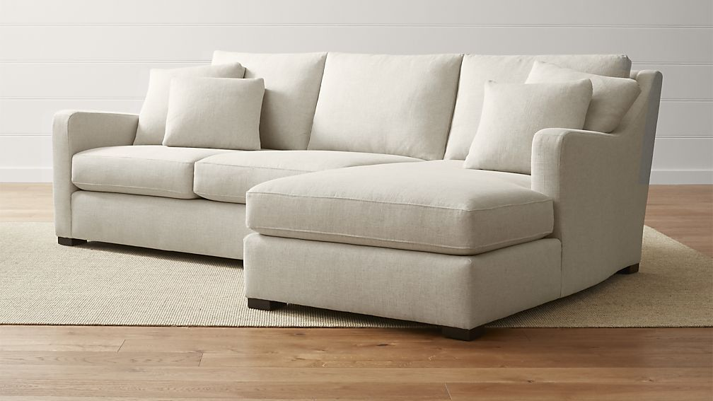 Verano 2 Piece Right Arm Chaise Sectional Sofa