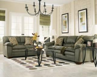 Bright Off White Walls With Sage Furniture Sage Green Living Room Green Sofa Living Room Contemporary Living Room Sofa