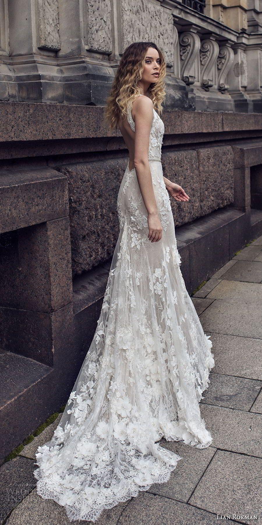 "Lian Rokman 2018 Wedding Dresses — ""Stardust"" Bridal Collection"