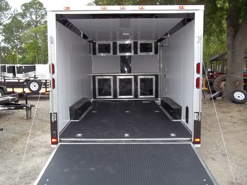 aluminum trailer cabinets - trucks, trailers, rv's & toy haulers