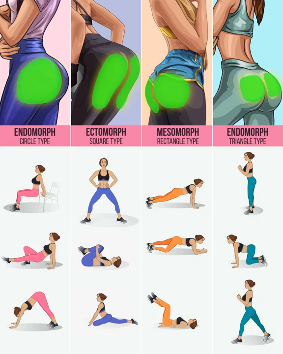 Workout to fit your butt