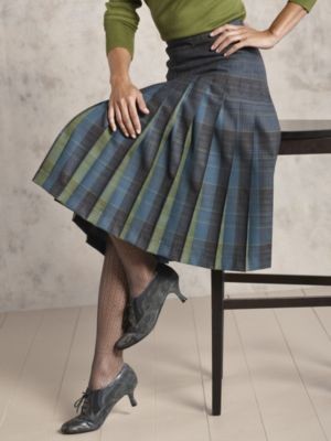 73b330aad Pendleton reversible pleated skirt. Mine is from the 1960's.   My ...