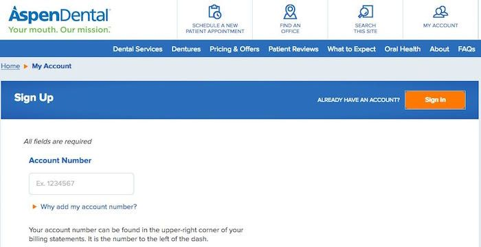 Aspen Dental Bill Pay Online Login Customer Service Sign In Dental Bill Paying Bills Aspen Dental