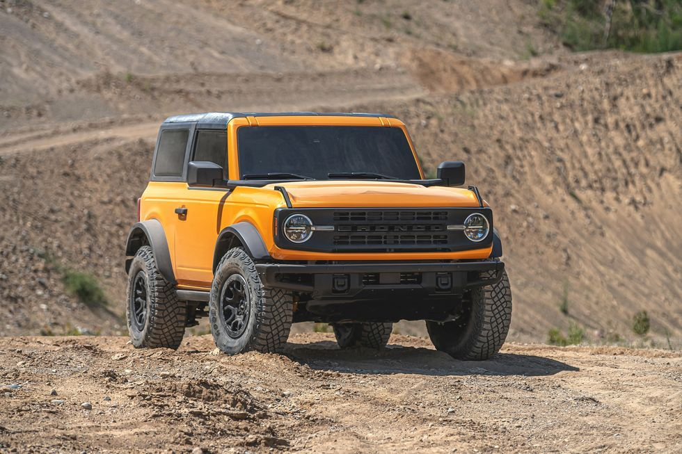 View Photos of the 2021 Ford Bronco 2Door in 2020 Ford