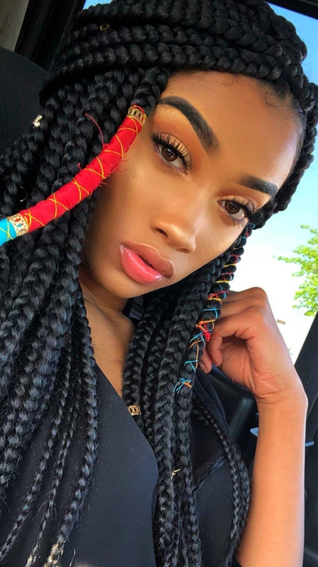 ⚡GRETA⚡ | Scalp braids, Womens hairstyles, Plaits hairstyles black