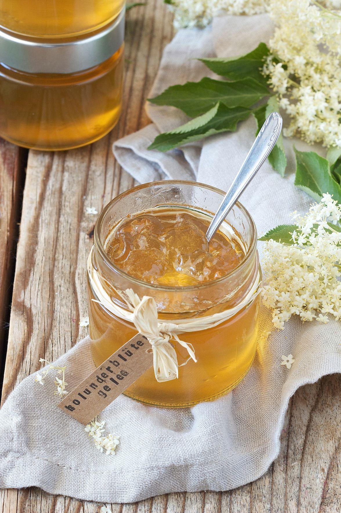 Holunderblütengelee - Sweets & Lifestyle® #homemadesweets