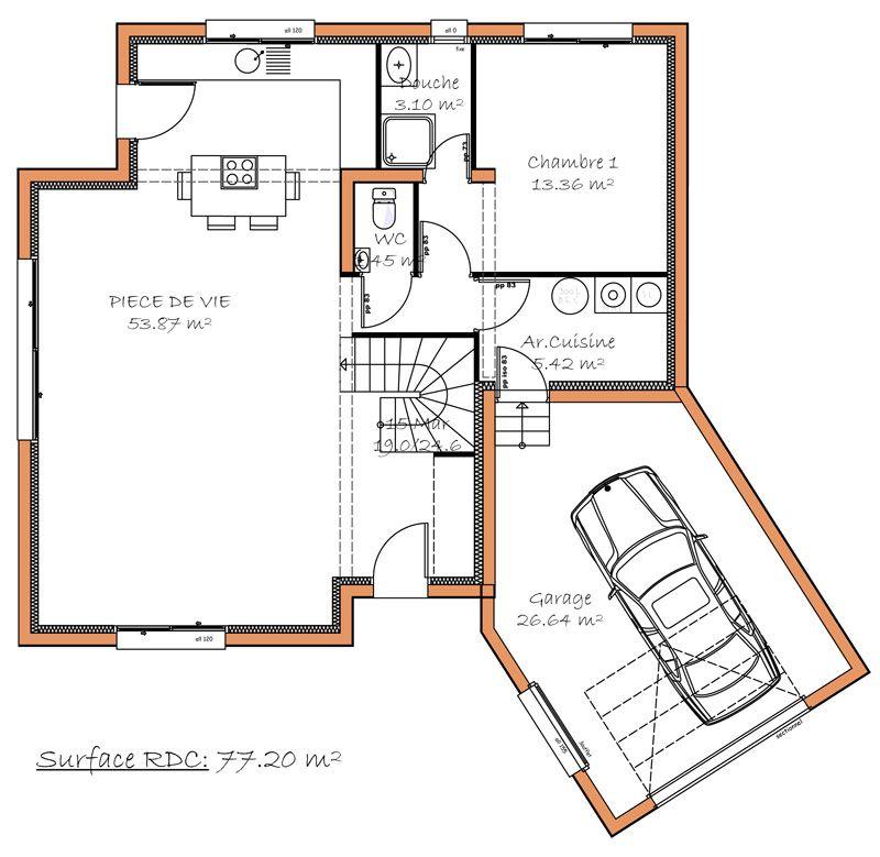 Visualisez quelques modèles de maisons en projet de construction - Construire Une Maison De 200m2