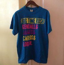 Big Time Rush Concert Tour T Shirt Vip Tshirt Shirt Medium