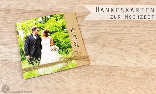 Kreativ Oder Primitiv De Dankeskarten Danke Fotobuch Zur Hochzeit