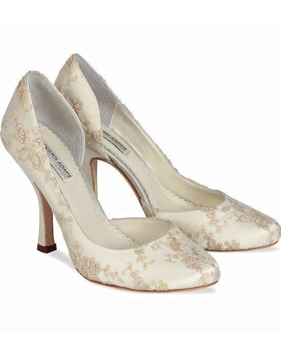 Benjamin Adams Elisabeth Wedding Shoes so pretty